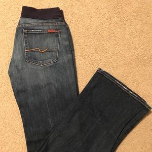 Maternity Seven for all Mankind Sz L